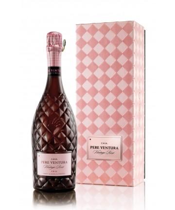 Cava  vintage rosé 2014, Pere Ventura