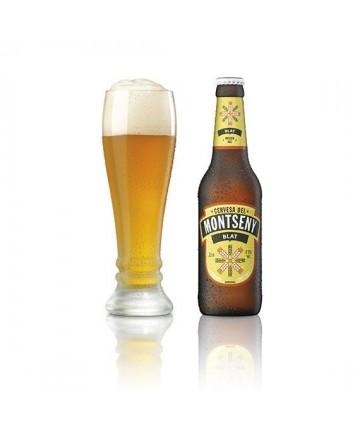 Cervesa del Montseny Blat Ampolla 33 cl. pack 4 unitats