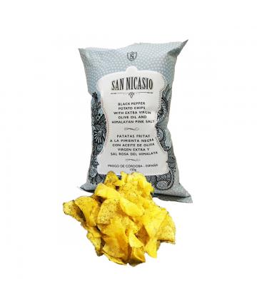 Patates San Nicasio amb Pebre Negre (150 gr)